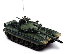 Russian T-72 Main Battle Tank - European Camouflage