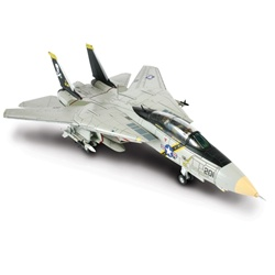 US Navy Grumman F-14A Tomcat Fleet Defense Fighter -  AJ201, VF-84 Jolly Rogers, USS Theodore Roosevelt (CVN-71), 1989