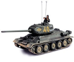 Russian T-34/85 Tank - Yellow 40, Eastern Front 1945
