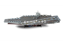 "US Navy USS Enterprise Nuclear-Powered Aircraft Carrier (CVN-65) - ""40th Anniversary of E=MC2"", 2001"