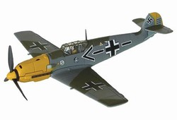 German Messerschmitt Bf 109E-4/N Fighter - Oberstleutnant Adolf Galland, Jagdgeschwader 26 Schlageter, Audembert, France, 1940