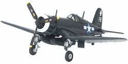 USMC Chance-Vought F4U-1C Corsair Fighter - VMF-112 (Wolf Pack), Air Group 82, USS Bennington (CV-20), April 1945