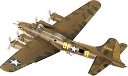 USAAF Boeing B-17F Flying Fortress Heavy Bomber - Memphis Belle, 41-24485, 324th Bombardment Squadron, 91st Bombardment Group, England, 1943