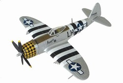 USAAF Republic P-47D-25 Thunderbolt Fighter - 1st Lt. Kenneth Chetwood, 350th Fighter Squadron, 353rd Fighter Group, Suffolk, June 1944