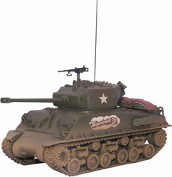 Limited Edition US M4A3E8 Sherman Medium Tank - Lt. Colonel Creighton Abrams, Thunderbolt VII, 37th Tank Battalion, 4th Armored Division, Germany, 1945