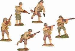 WWII US Infantry 6-Figure Set - Normandy, 1944