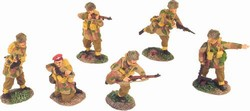 WWII British Paratrooper 6-Figure Set - Normandy, 1944