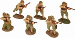 WWII US Rangers 6-Figure Set - Normandy, 1944