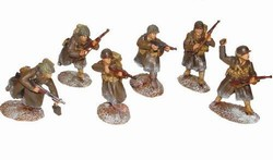WWII US Infantry 6-Figure Set - Battle of the Bulge, 1944