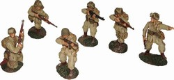 WWII US Airborne 6-Figure Set - Normandy, 1944