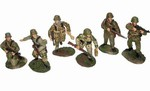 WWII German Waffen SS Infantry 6-Figure Set - Normandy, 1944