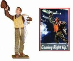 Coming Right Up USAAF Figure