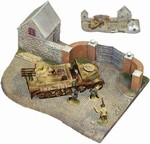 D-Day Surrender Set #2 - Sd. Kfz. 7/1, Three Figures and Diorama Base