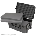 SKB Injection Molded Case 3I-2918-14BC with Cubed Foam
