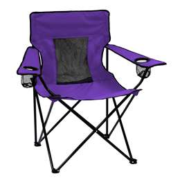 Plain Purple Elite Chair Folding Tailgate Camping Chairs