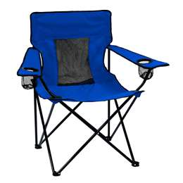 Plain Royal   Elite Folding Chair with Carry Bag