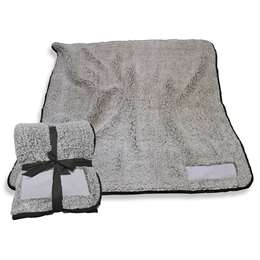 "Black Frosty Fleece Blanket 60"" X 50"""