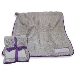 "Purple Frosty Fleece Blanket 60"" X 50"""
