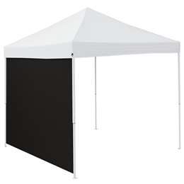 Plain Black 9 x 9 Side Panel 9 X 9 Canopy Side Wall - Panel For Tailgate Tent