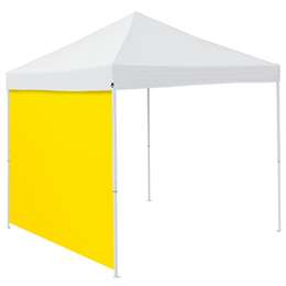 Plain Lemon 9 x 9 Side Panel 9 X 9 Canopy Side Wall - Panel For Tailgate Tent