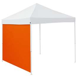 Plain Orange 9 x 9 Side Panel Canopy Side Wall