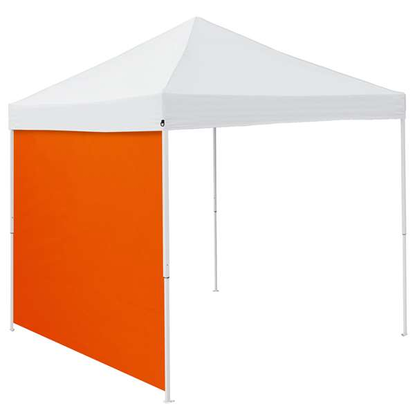 Plain Orange 9 x 9 Side Panel 9 X 9 Canopy Side Wall - Panel For Tailgate Tent