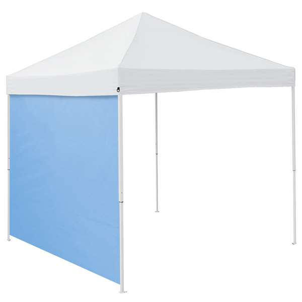 Plain Powder Blue 9 x 9 Side Panel Canopy Side Wall