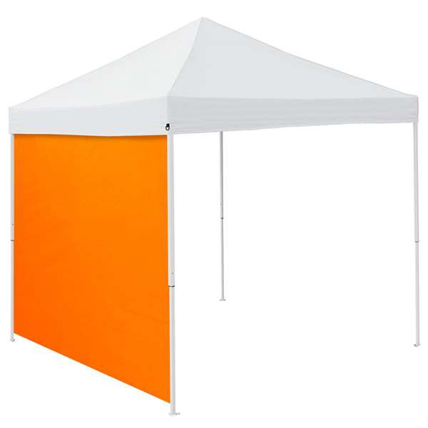 Plain Tangerine 9 x 9 Side Panel 9 X 9 Canopy Side Wall - Panel For Tailgate Tent
