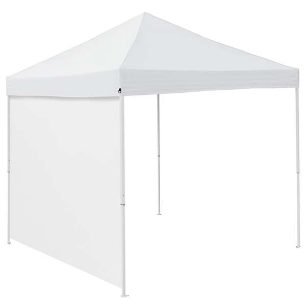 Plain White 9 x 9 Side Panel Canopy Side Wall