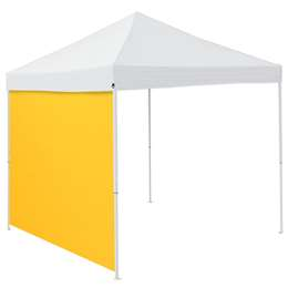 Plain Yellow 9 x 9 Side Panel 9 X 9 Canopy Side Wall - Panel For Tailgate Tent