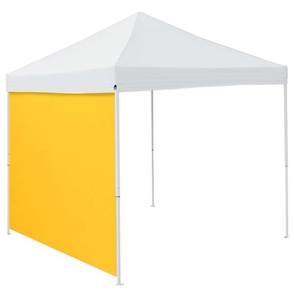 Plain Yellow 9 x 9 Side Panel Canopy Side Wall