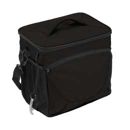 Plain Black 24 Can Cooler