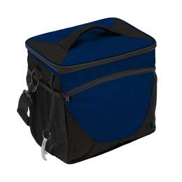 Plain Navy Blue 24 Can Cooler
