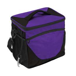 Plain Purple 24 Can Cooler