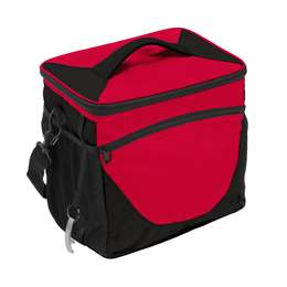 Plain Red 24 Can Cooler