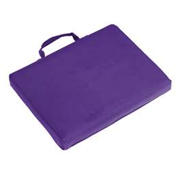 Plain Purple Bleacher Cushion