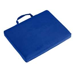 Plain Royal Blue Bleacher Cushion Stadium Seat