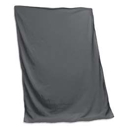 Plain Charcoal Sweatshirt Blanket