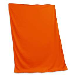 Plain Orange  Sweatshirt Blanket