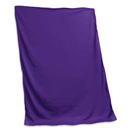 Plain Purple Sweatshirt Blanket