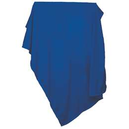 Plain Royal Sweatshirt Blanket