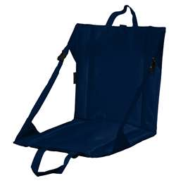 Plain Navy Blue Stadium Seat
