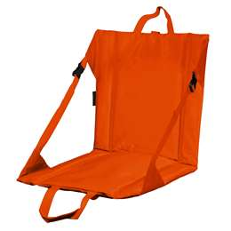 Plain Orange Stadium Seat