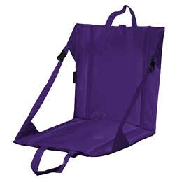 Plain Purple Stadium Seat