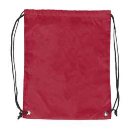 Plain Cardinal  DoubleHeader Backsack String Bag