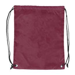 Plain Maroon Cruise Backsack 87D - Dbl Head Strin