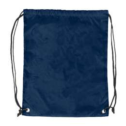 Plain Navy Blue DoubleHeader Backsack String Bag