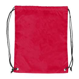 Plain Red Cruise Backsack 87D - Dbl Head Strin