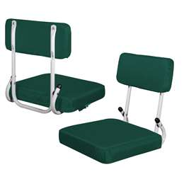 Hunter Green Hard Back Stadium Seat