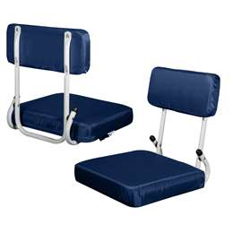 Navy Blue Hard Back Stadium Seat